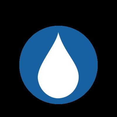 Saliva Detection Test in Water Logo